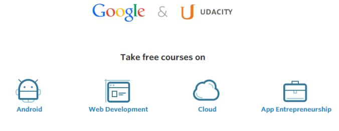 Kursus Gratis dari Google dan Udacity